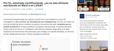 Análisis Cuantitativo sobre la eficiencia de Word y LaTeX