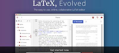 Latex en linea para utilizar el editor